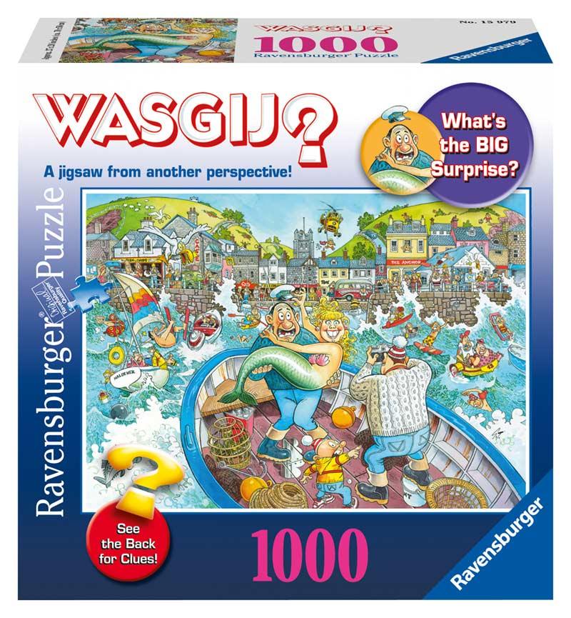 WASGIJ? Original - Catch of the Day Cartoons Jigsaw Puzzle