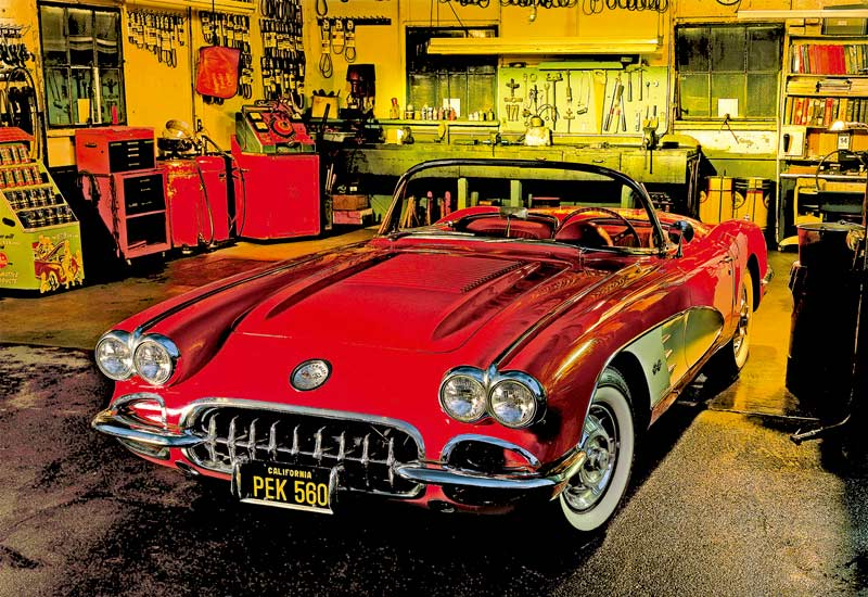 Tune-Up Cars Jigsaw Puzzle