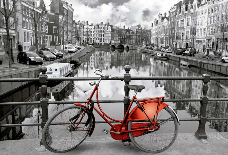 Amsterdam Travel Jigsaw Puzzle