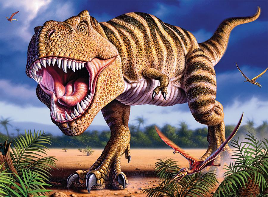 T Rex (Dino Glow) Dinosaurs Glow in the Dark Puzzle