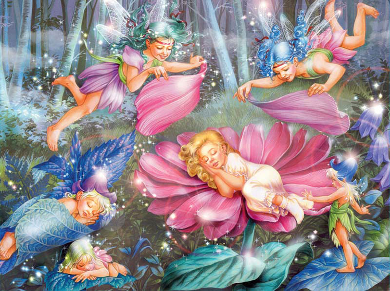 Gemstone Fairies - Sleepytime Fairies Glitter/Shimmer/Foil