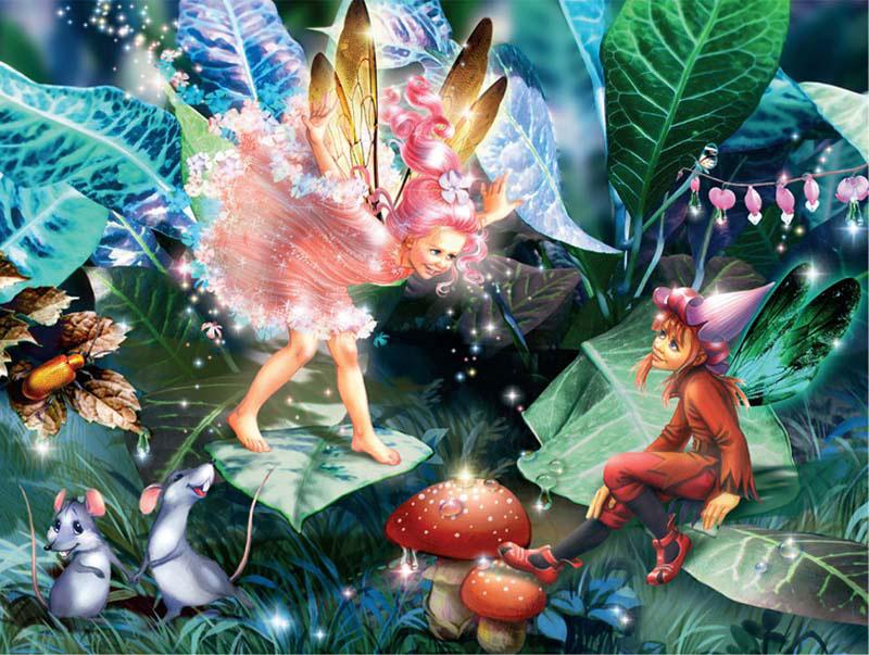 Gemstone Fairies - Playtime Fairies Glitter/Shimmer/Foil