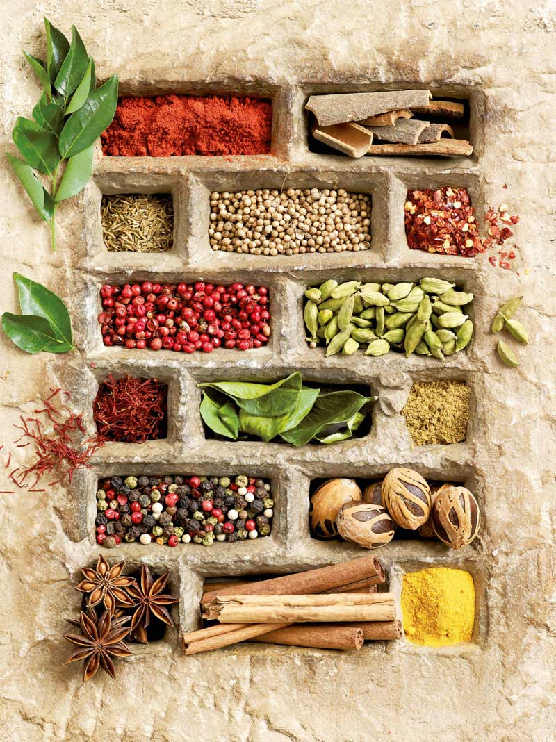 Spices in Stone Food and Drink Jigsaw Puzzle