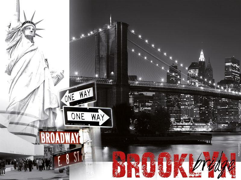 Brooklyn Bridge Statue of Liberty Jigsaw Puzzle