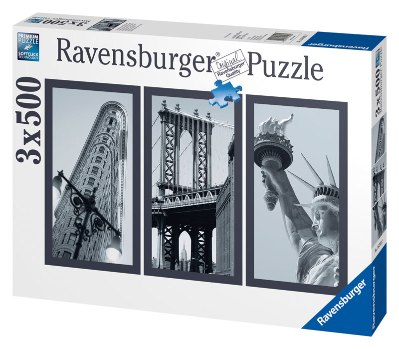 Impressions of New York Statue of Liberty Jigsaw Puzzle