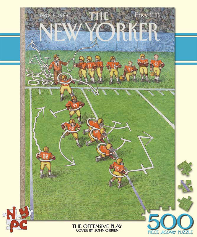 The New Yorker - Offensive Play Magazines and Newspapers Jigsaw Puzzle
