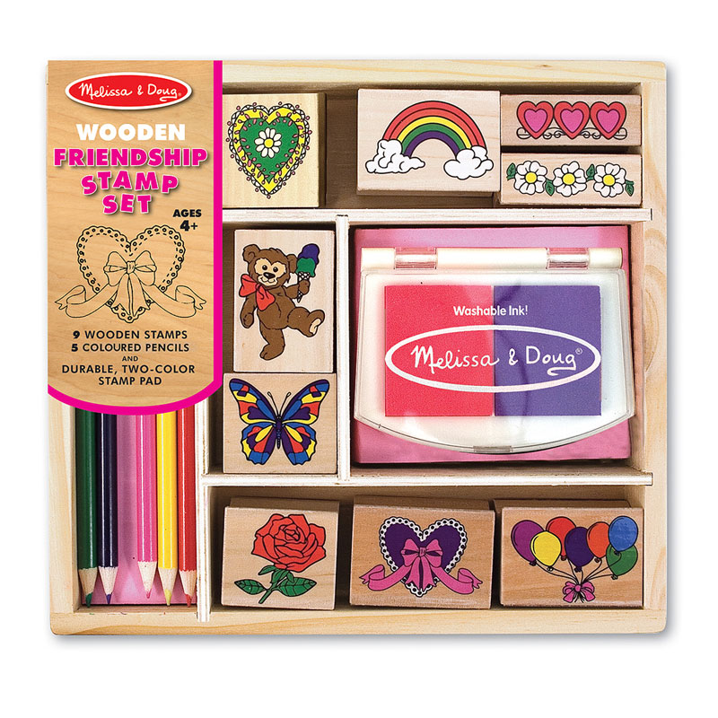 Friendship Stamp Set Valentine's Day Arts and Crafts