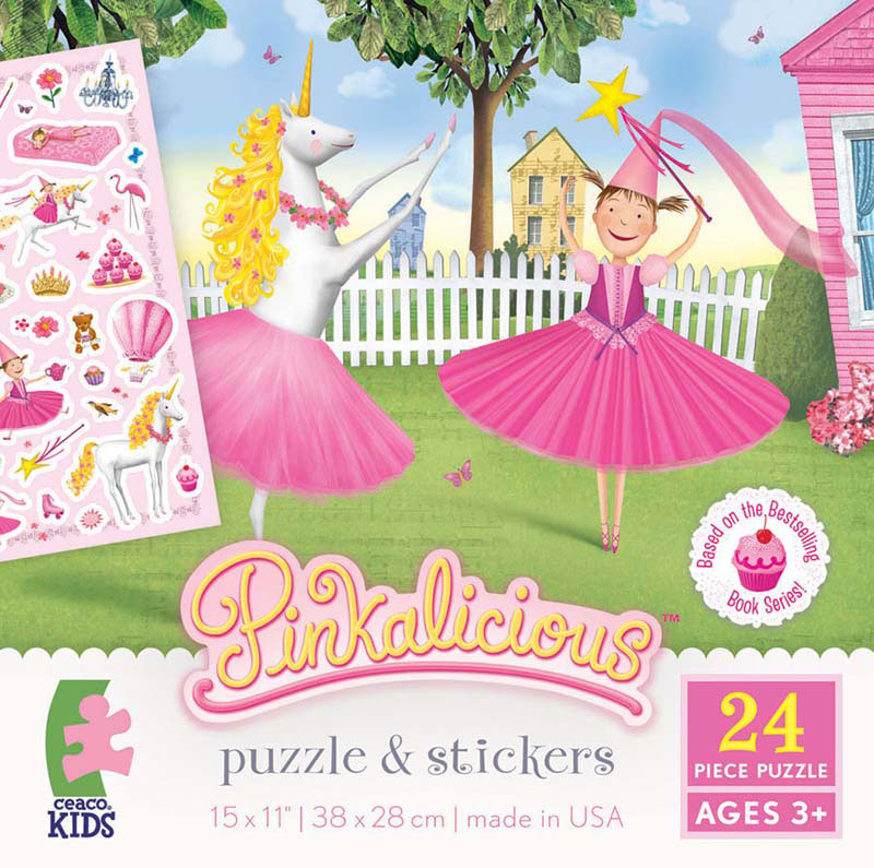 Sticker Puzzle - Pinkalicious Princess Jigsaw Puzzle