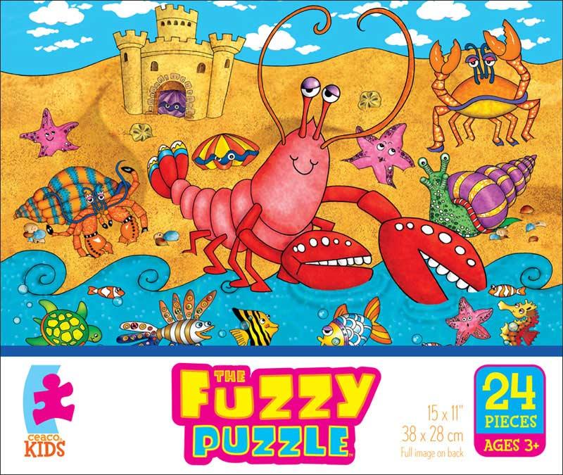 Fuzzy Puzzle - On the Beach Beach Jigsaw Puzzle