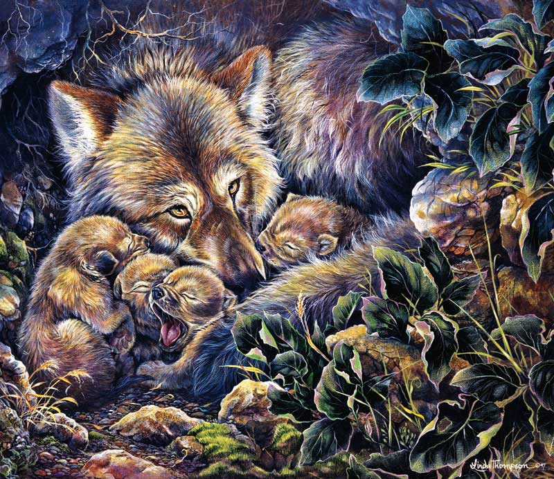 Wolf Lair Jigsaw Puzzle