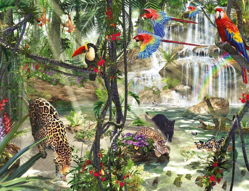 Jungle Impressions Jungle Animals Jigsaw Puzzle