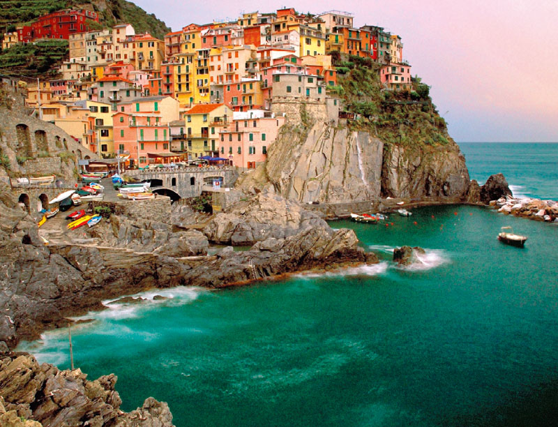 Cinque Terre, Italy - Scratch and Dent Travel Jigsaw Puzzle