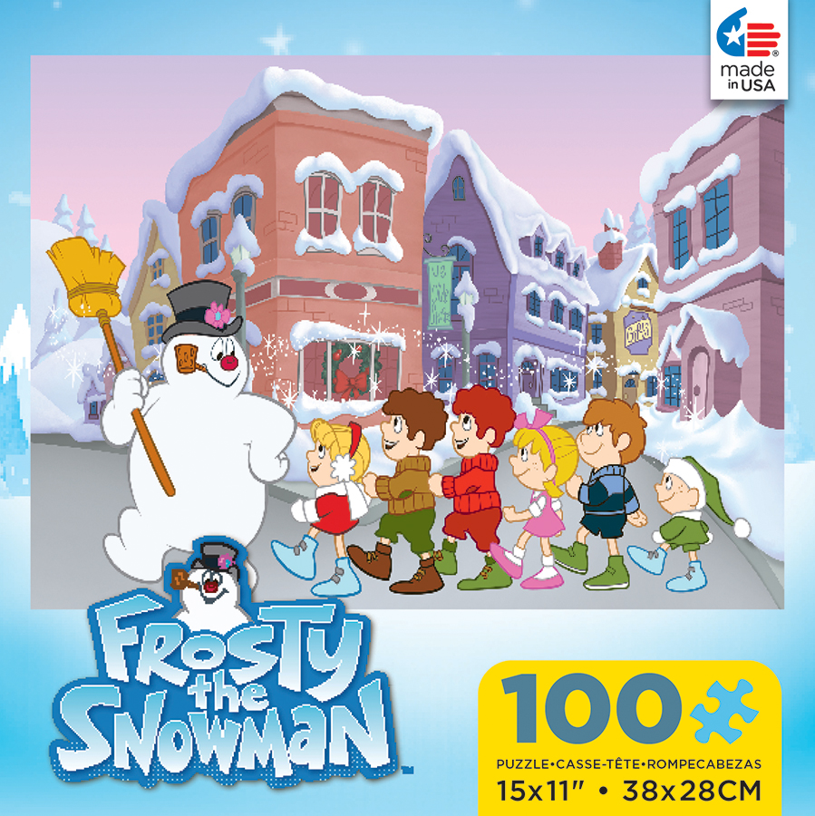 Frosty The Snowman Holiday Jigsaw Puzzle Puzzlewarehouse Com