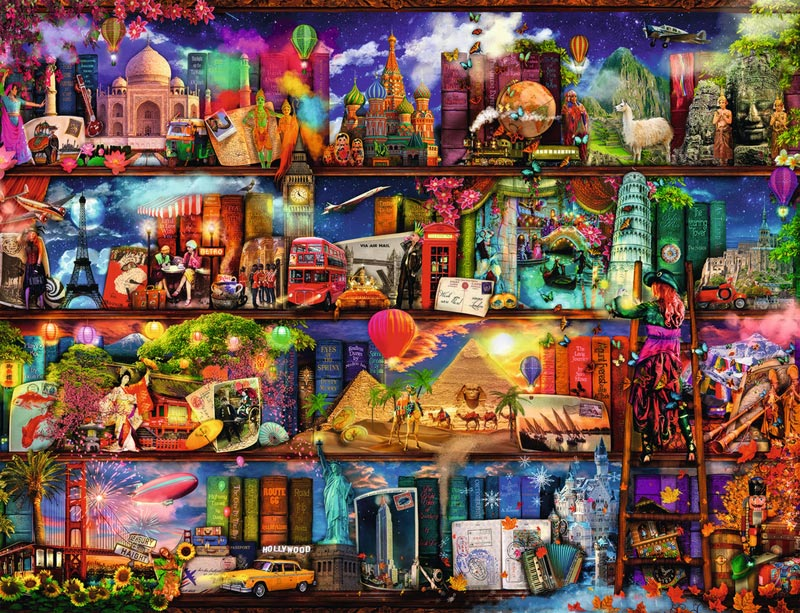 World of Books Travel Jigsaw Puzzle