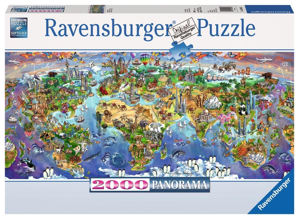 World wonders jigsaw puzzle puzzlewarehouse world wonders cartoons jigsaw puzzle gumiabroncs Choice Image