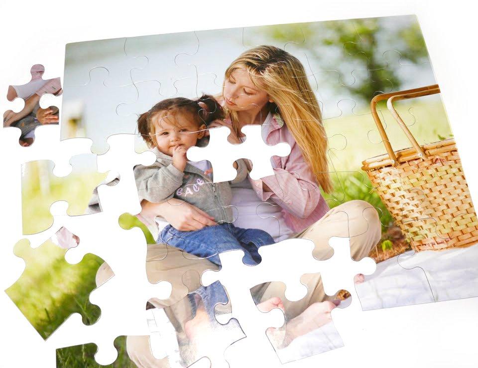 30 Piece Custom Cardboard Jigsaw Puzzle - 16 x 20 Custom Jigsaw Puzzle