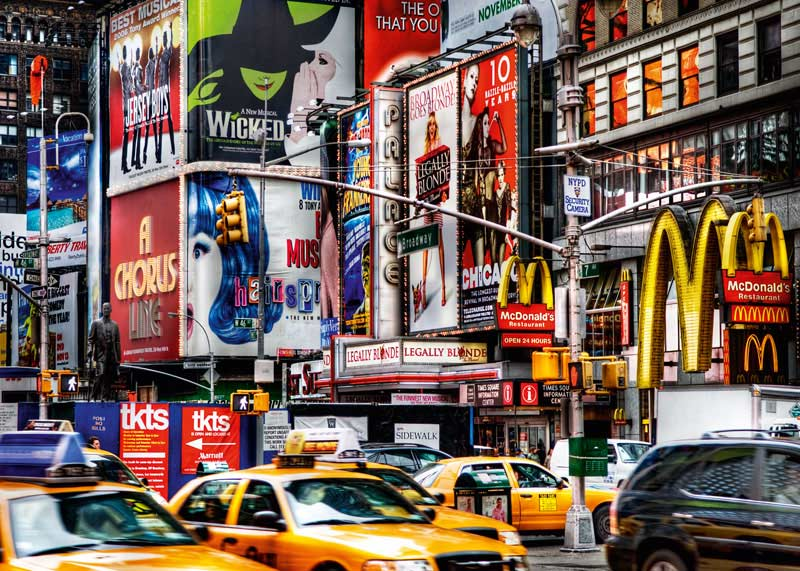 New York Times Square New York Jigsaw Puzzle