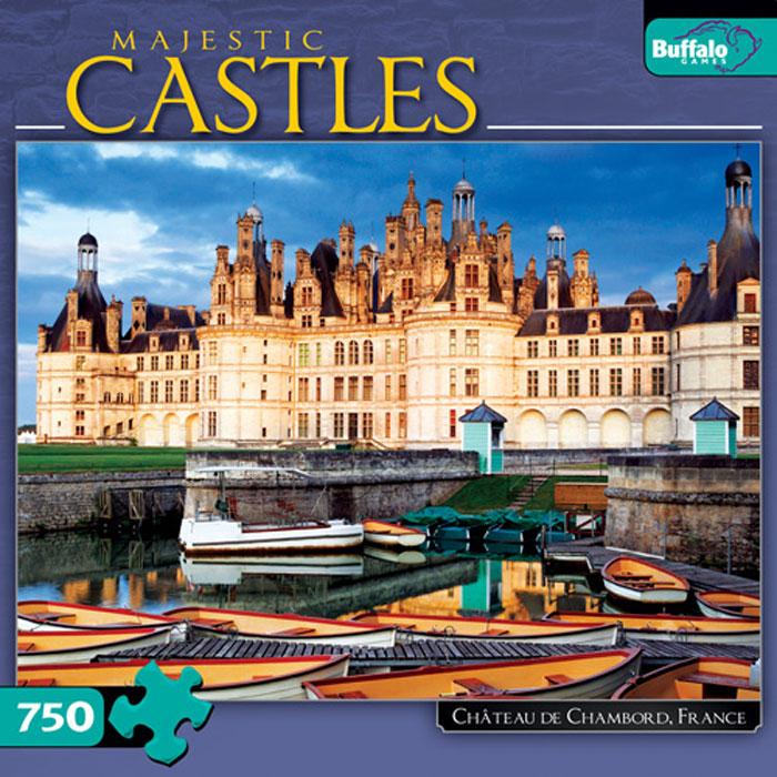 Chateau de Chambord, France Castles Jigsaw Puzzle