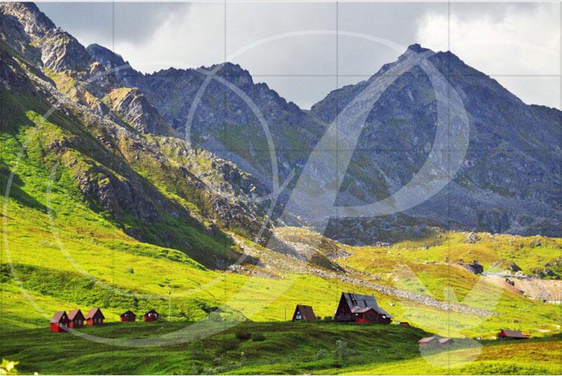 Hatcher's Pass Landscape Wooden Jigsaw Puzzle