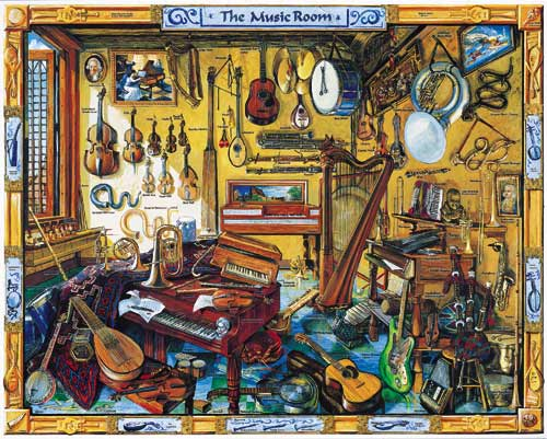 The Music Room Jigsaw Puzzle Puzzlewarehouse Com