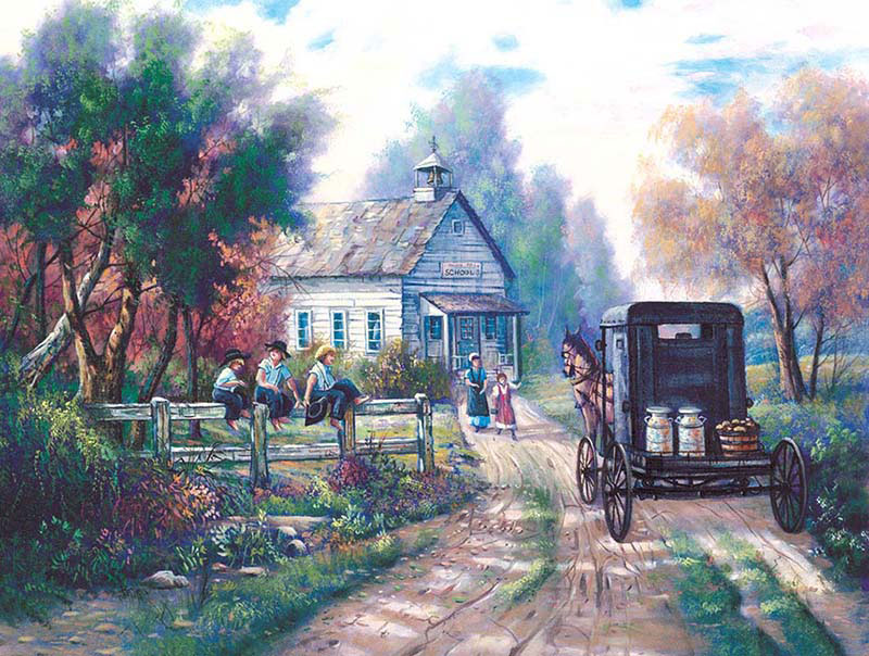 After School Countryside Jigsaw Puzzle