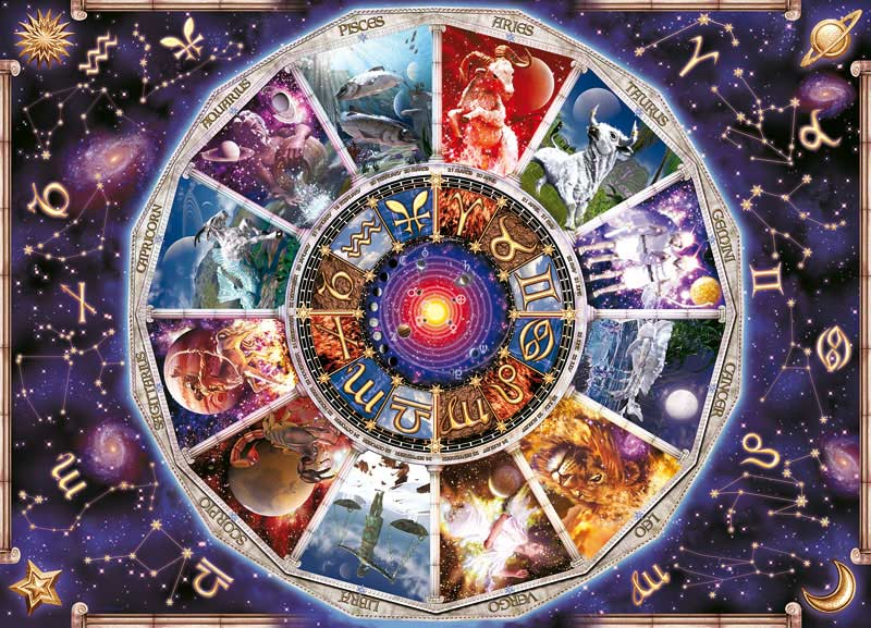 Astrology - Scratch and Dent Space Jigsaw Puzzle