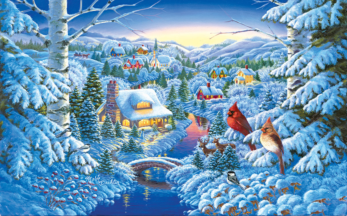 Winter Haven Winter Jigsaw Puzzle