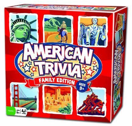 American Trivia: Family Edition Americana