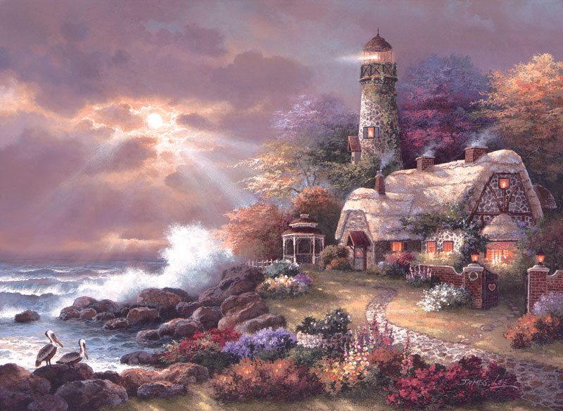 Heaven's Light Lighthouses Jigsaw Puzzle