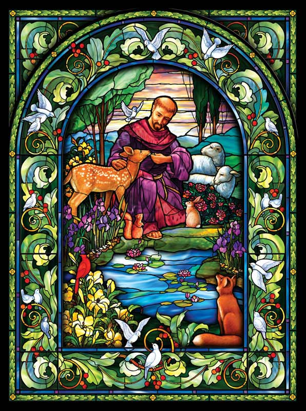 St. Francis Religious Jigsaw Puzzle