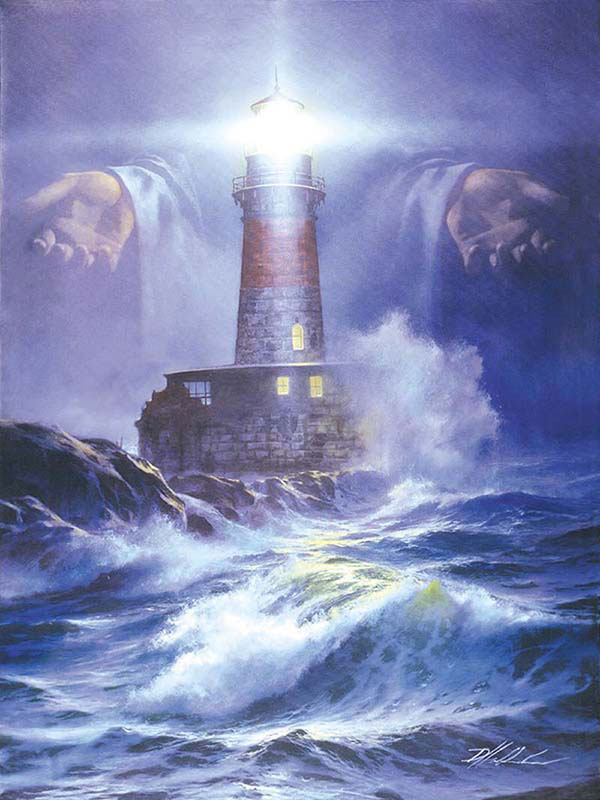 I am the Light Lighthouses Jigsaw Puzzle