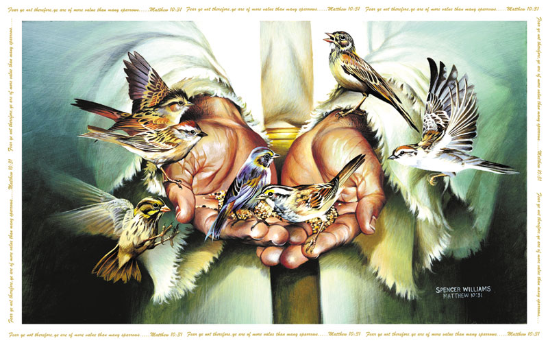 In His Hands Jigsaw Puzzle