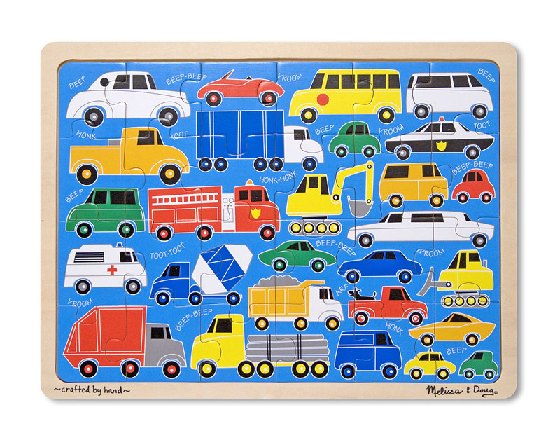 Beep Beep Vehicles Children's Puzzles