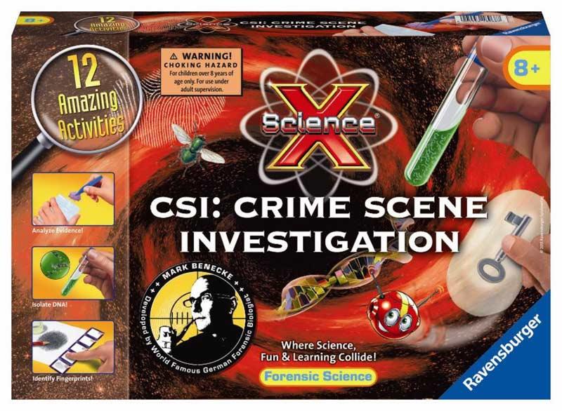 Csi Crime Scene Investigation Science X Midi Ravensburger Puzzle Warehouse