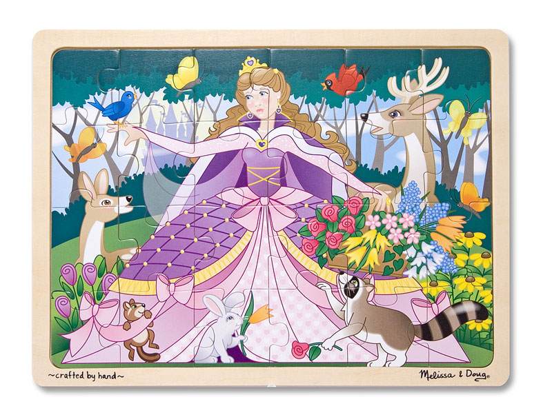 Woodland Princess Princess Children's Puzzles