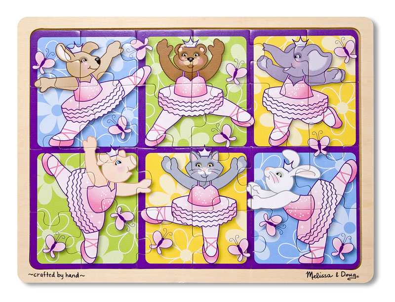 Ballerinas & Butterflies Other Animals Jigsaw Puzzle