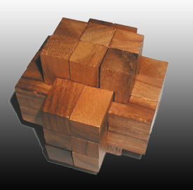 Burr 6x6x6 (18 pieces) #2
