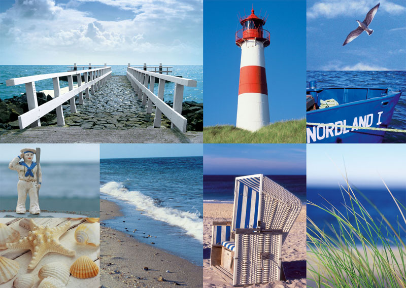 Maritime Impressions Beach Jigsaw Puzzle
