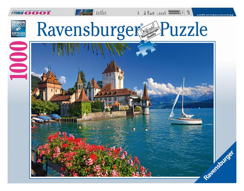 Lake Thun, Bern Travel Jigsaw Puzzle
