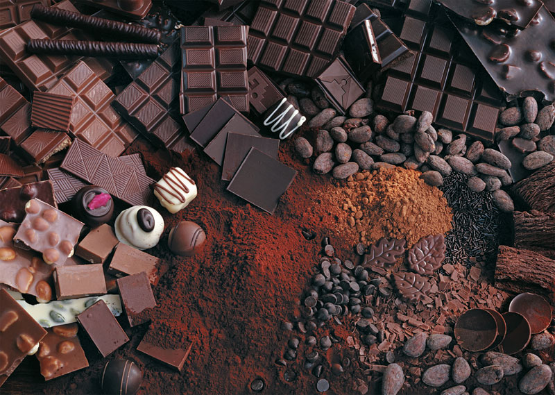 Death by Chocolate Food and Drink Jigsaw Puzzle