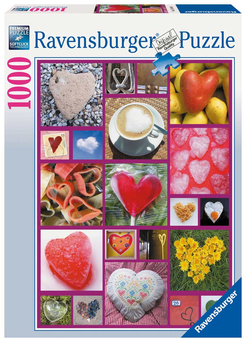 Hearts Abound Mother's Day Jigsaw Puzzle