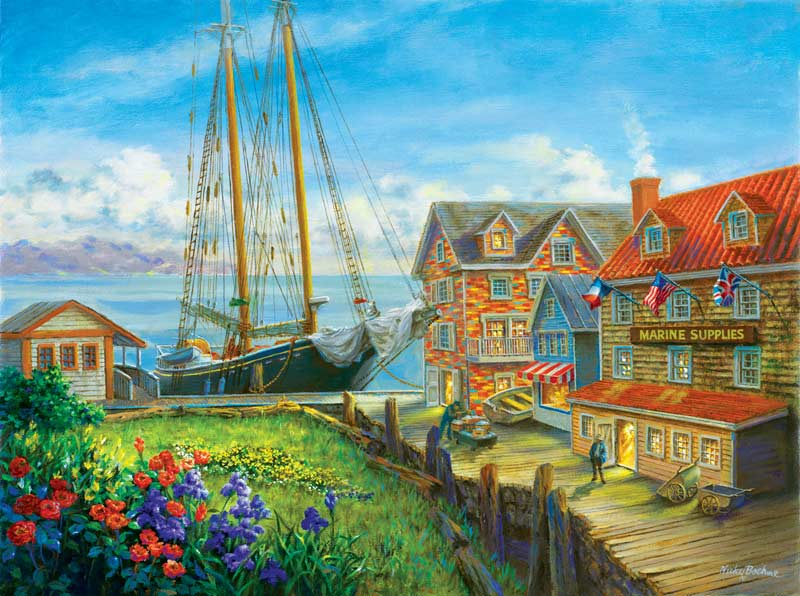Marine Supplies Boats Jigsaw Puzzle