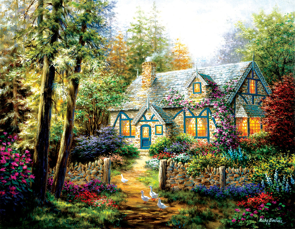A Country Gem Countryside Jigsaw Puzzle