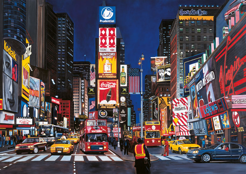 Times Square, NYC Travel Jigsaw Puzzle