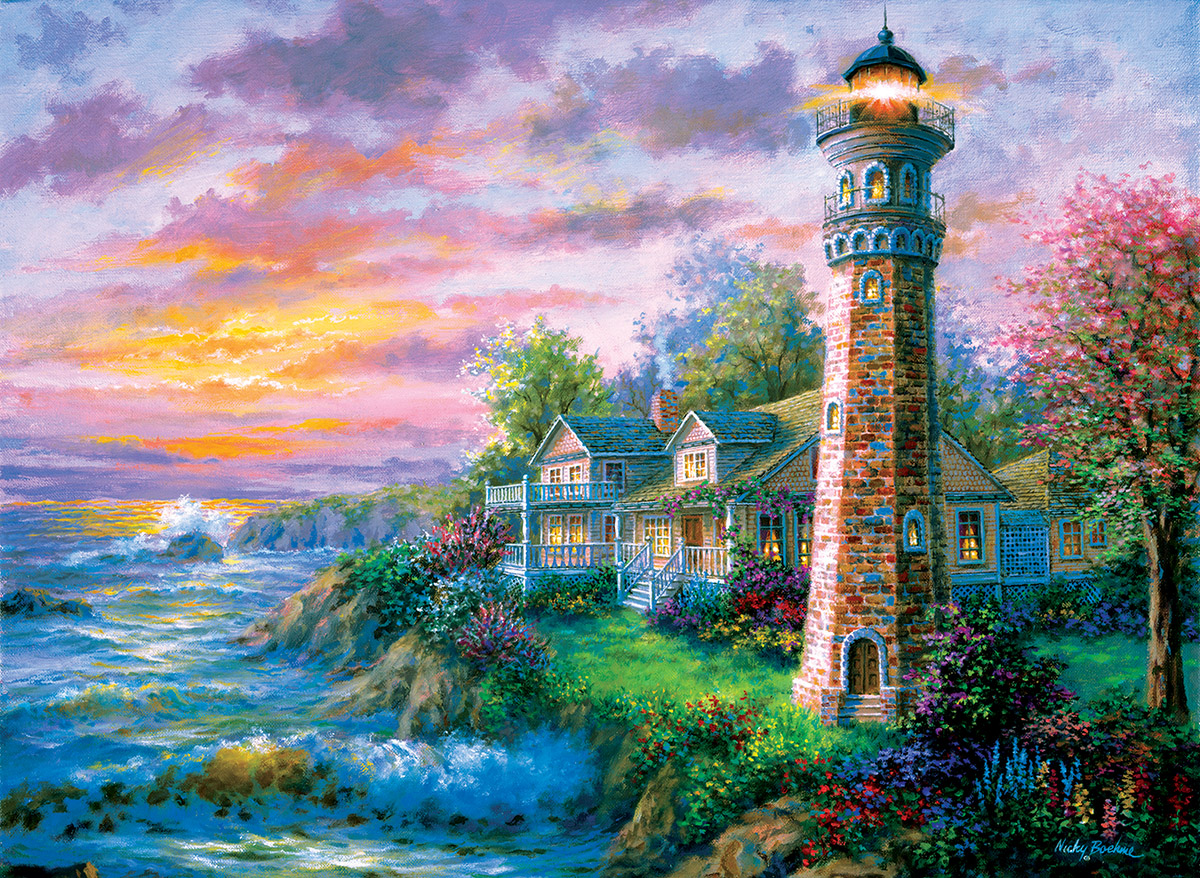 Sea Haven Lighthouses Jigsaw Puzzle