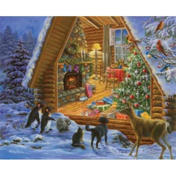 Window Shopping Christmas Jigsaw Puzzle
