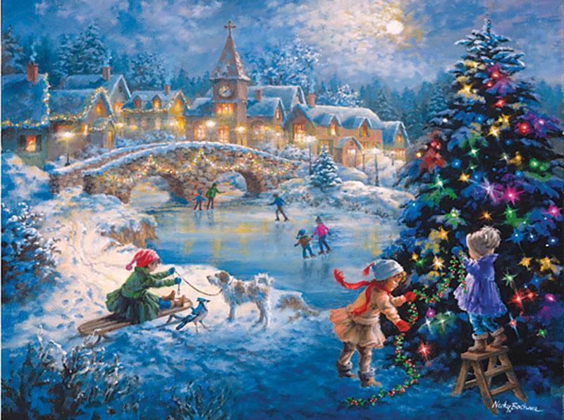 A Joyful Celebration Christmas Jigsaw Puzzle