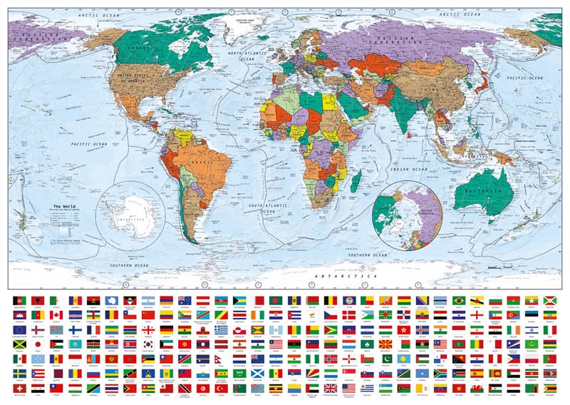 Portrait of the Earth Maps Jigsaw Puzzle