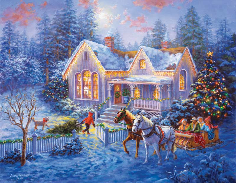 Welcome Home Winter Jigsaw Puzzle