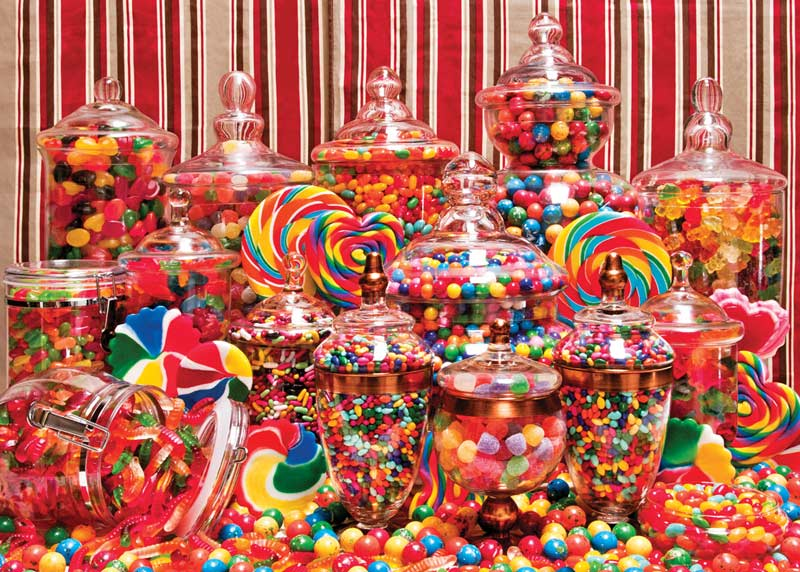 Candy Overload Food and Drink Jigsaw Puzzle